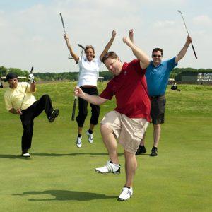 quatuor de golf